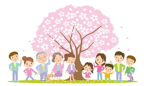 お花見スポット石神井川桜並木