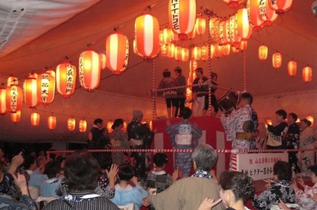 納涼大会 盆踊り