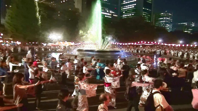 第15回 日比谷公園 丸の内音頭大盆踊り大会
