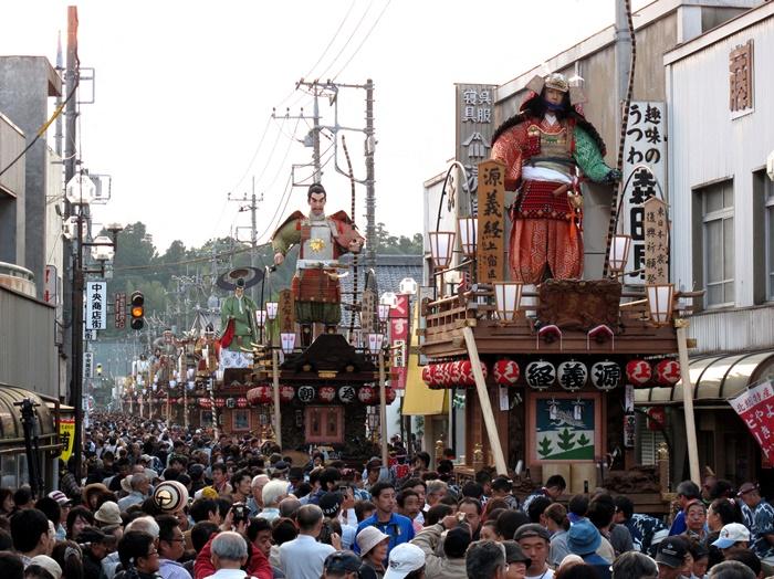 佐原の大祭秋祭り