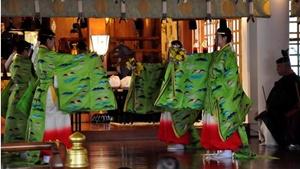 神楽「日枝の舞」