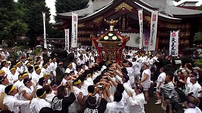素盞雄神社「天王祭」