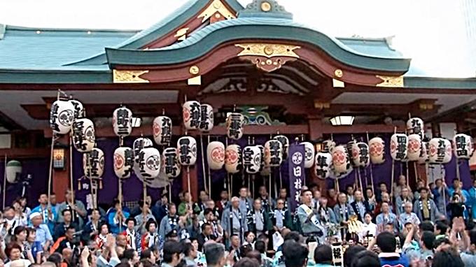 東京日枝神社山王祭