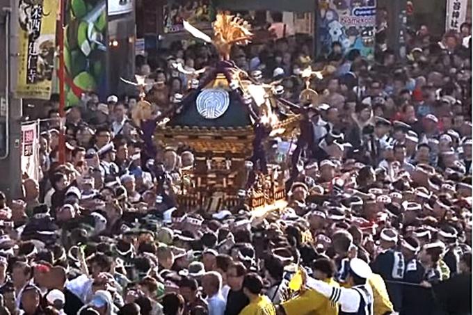 下谷神社本社神輿渡御