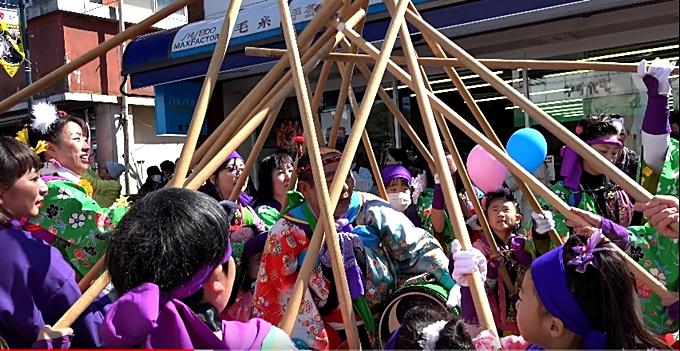 鹿島神宮の祭頭祭囃し画像