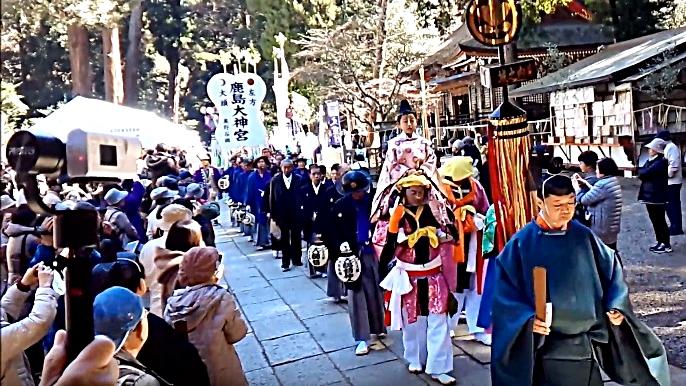 鹿島神宮の祭頭祭の画像