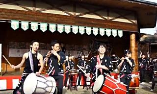武蔵越生高校和太鼓部「青龍」