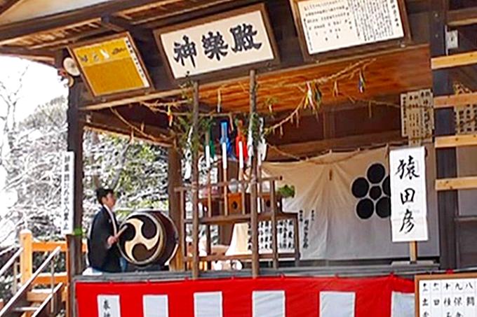 鎌数の神楽殿