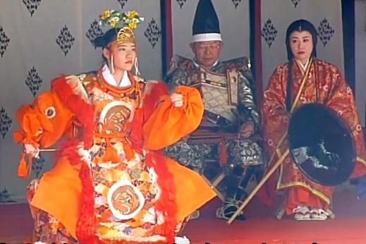 蘭陵王の舞